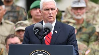 Пенс: США отвергают возможность использования силы на Балканах