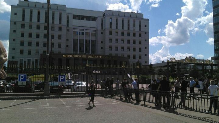 Кадры перестрелки с «бандой ГТА» в Мособлсуде попали в Сеть