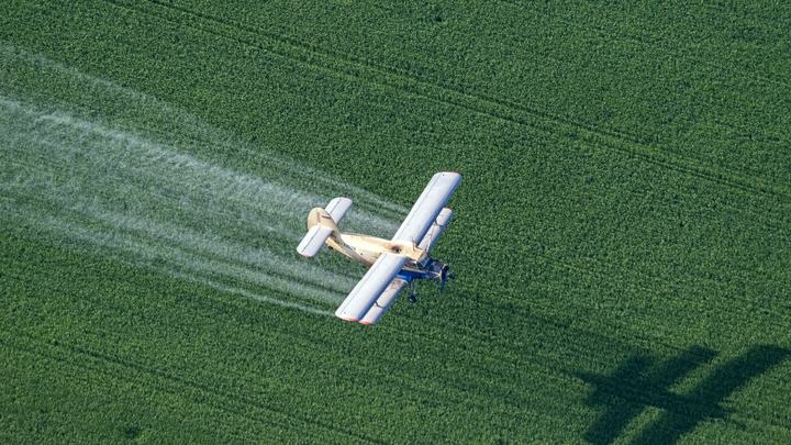 В США разбился легкомоторный самолет: Пилот погиб