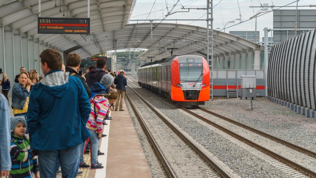 Восстановили движение электричек после гибели человека на станции Перово