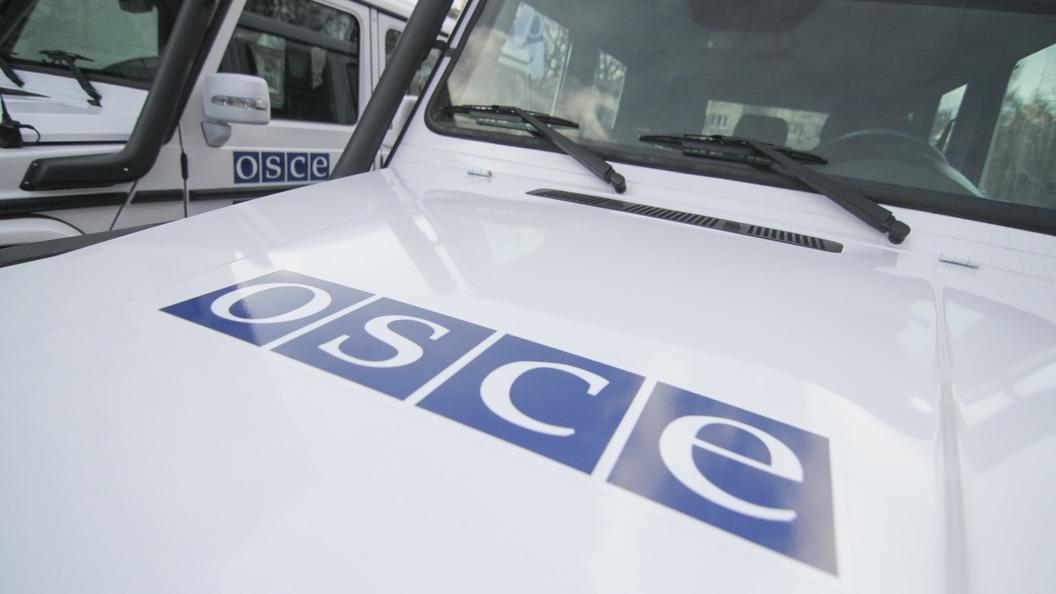 Украинские каратели обстреляли наблюдателей ОБСЕ под Донецком