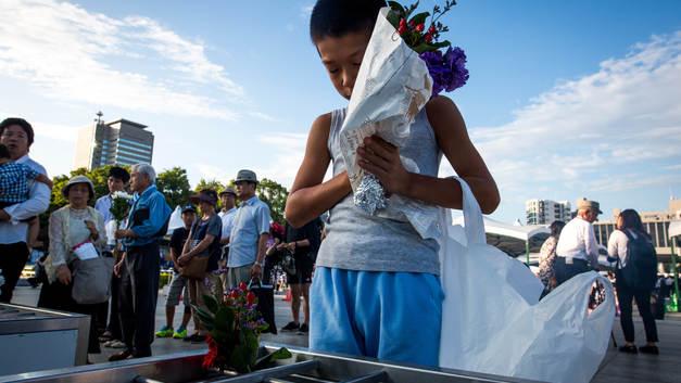 В Японии вспомнили жертв Хиросимы