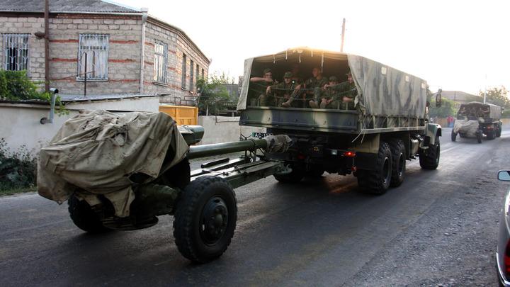 ДНР: украинцыобстреляли из градов позиции Правого сектора
