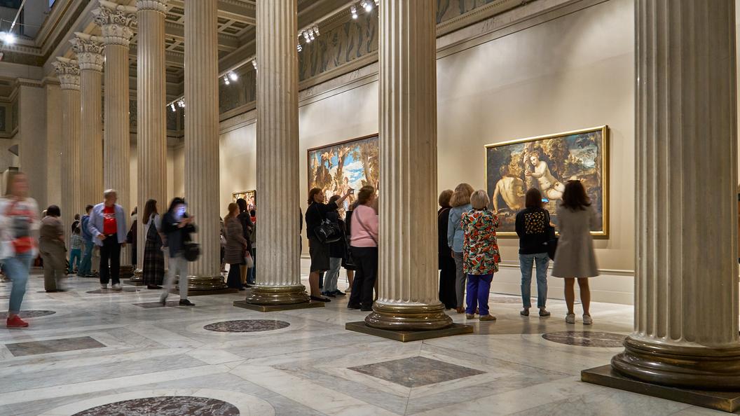 Сотрудница ГМИИ им. Пушкина установила истинного автора картины Венера и Адонис