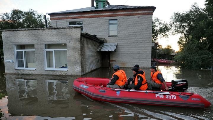 В Приморье из подтопленных районов эвакуируют людей