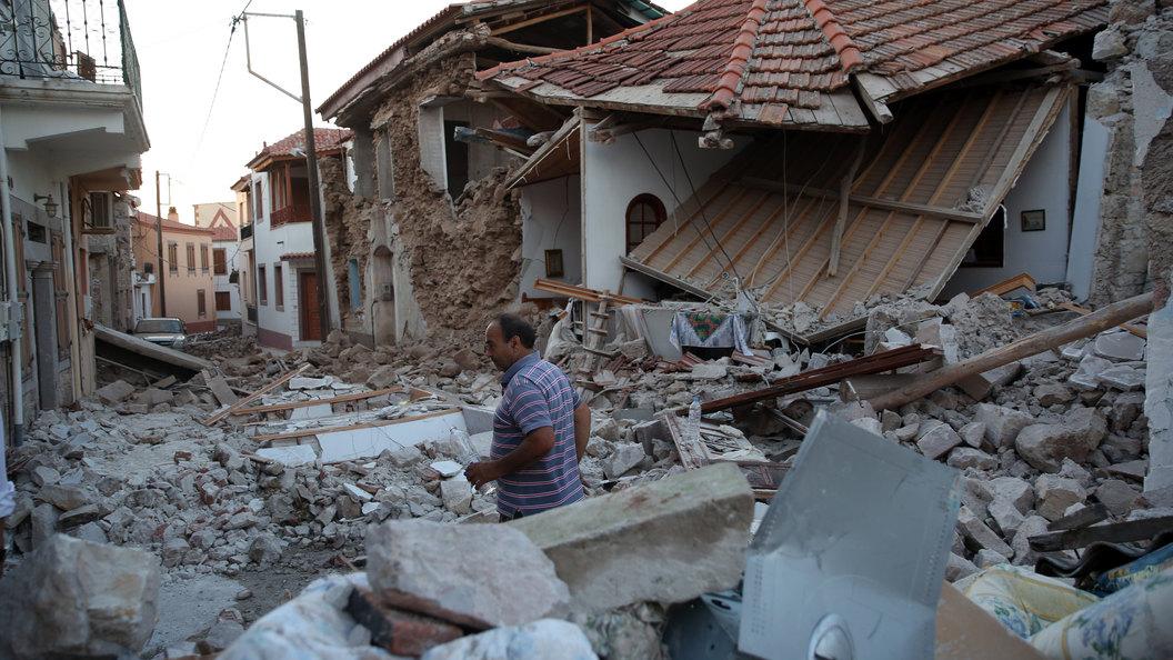 В турецком Бодруме произошло землетрясение