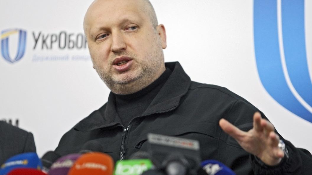 Турчинов посоветовал главе Южмаша пользоваться спецсвязью для защиты от пранкеров