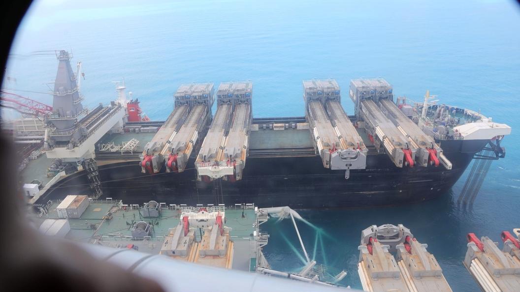 """Новак: Уложено более 170 км газопровода """"Турецкий поток"""""""