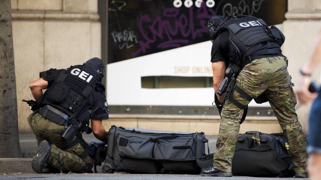 Совершившего наезд на пешеходов в Барселоне ликвидировали вКамбрильсе