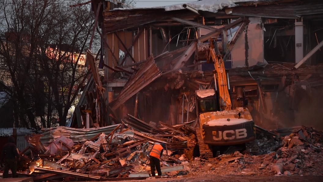 Московские власти утвердили пятый список объектов самостроя, подлежащих сносу