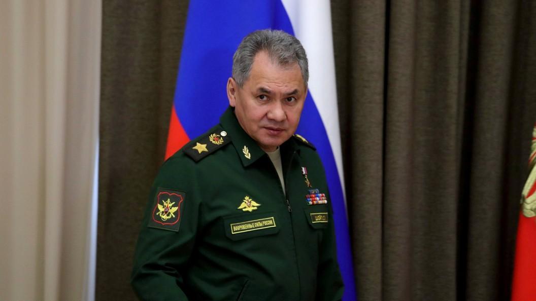 Министр обороны Сергей Шойгу объявил опрекращении гражданской войны вСирии