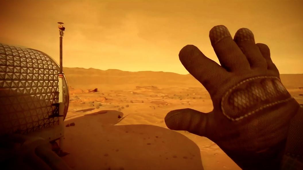 Ученые обнаружили обитаемое место на Марсе
