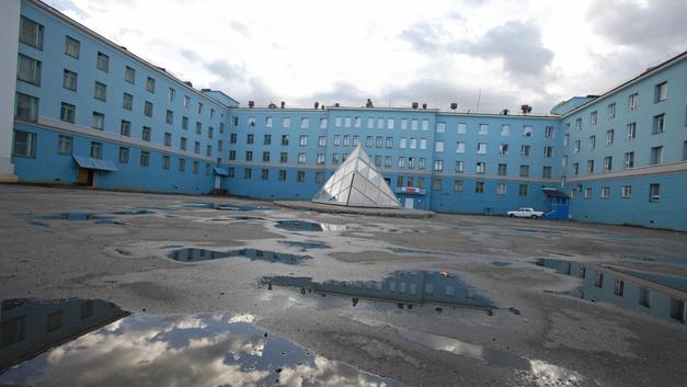 Жители Норильска приветствовали третий за лето снегопад
