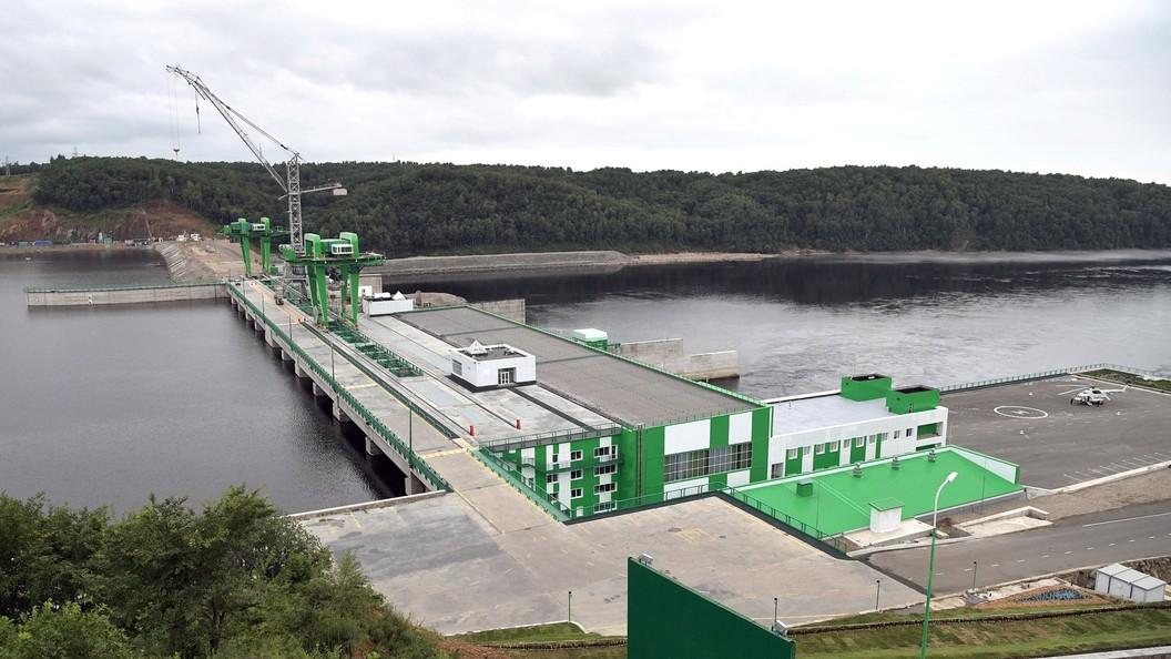 Причиной аварии наНижне-Бурейской ГЭС стало повреждение левобережной опоры