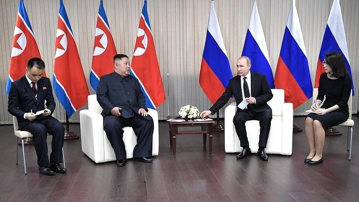 Коротко о встрече Путина и Ким Чен Ына. От главных заявлений до обмена оружием