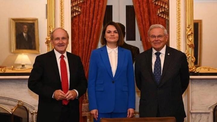 МИД Беларуси назвал визит Тихановской в США частью шоу, организованного за счёт простых американцев