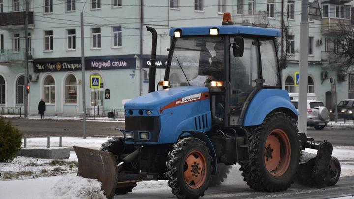 Во Владимире заработала горячая линия для жалоб на уборку снега