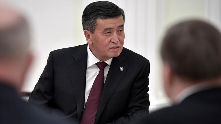 Президент Киргизии отправил в отставку правительство
