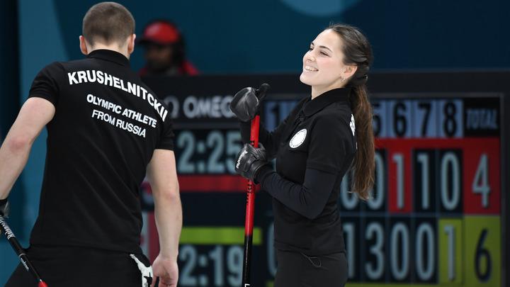Русские кёрлингисты в миксте одержали четвертую победу подряд