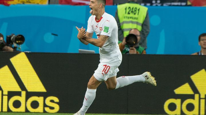 Фигура из пальцев может дорого обойтись косовским албанцам из сборной Швейцарии
