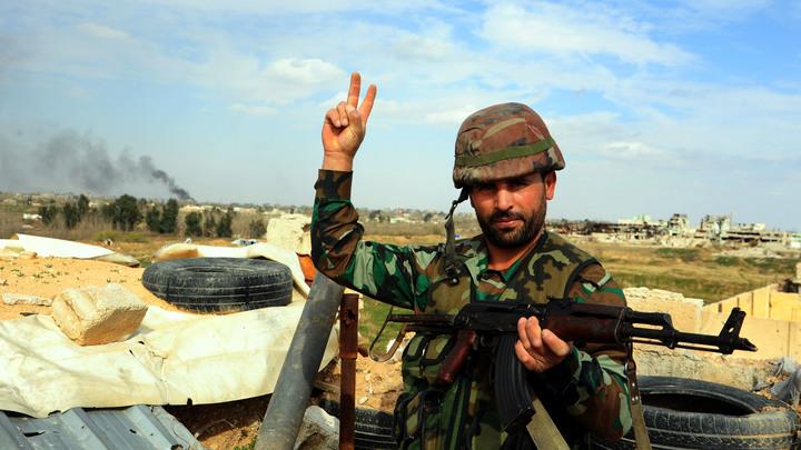 Аэродром в сирийском Хомсе подвергся ракетной атаке
