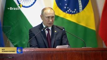 Рубль можно активнее использовать для расчетов между странами БРИКС - Путин
