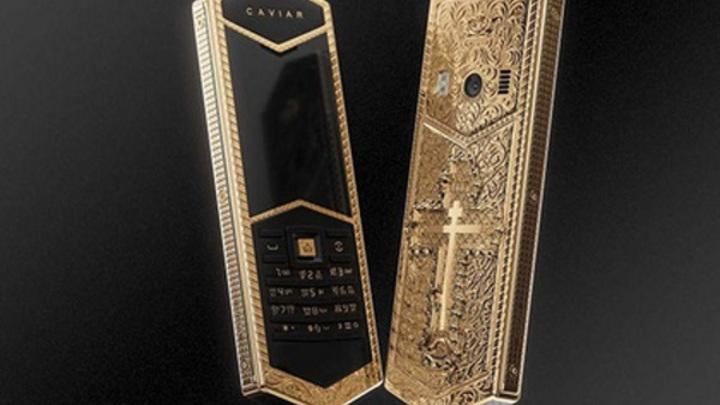 Выпуск золотого православного телефона назвали антицерковной провокацией
