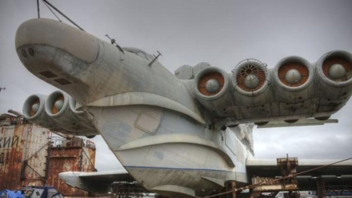 «Каспийский монстр» снова пугает НАТО: В России испытывают легендарный экранолет