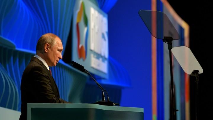 Путин своим излюбленным устойчивым выражением показал результат западных санкций
