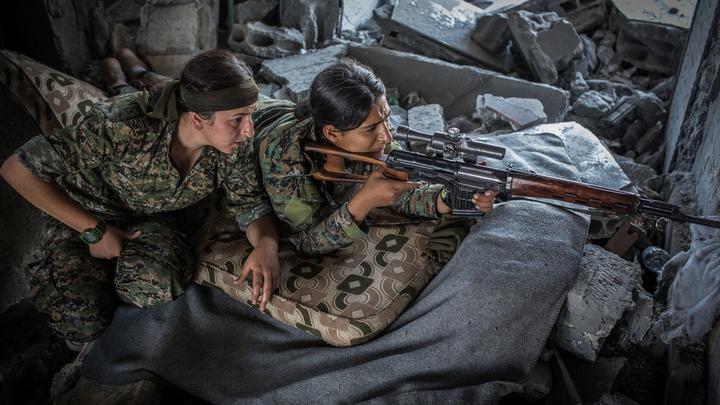 Жители Западной Ракки подняли бунт против проамериканских боевиков