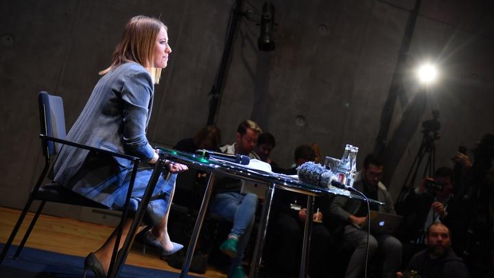 Политтехнолог Собчак о демарше: Кампания придумана на коленке и так же продвигается