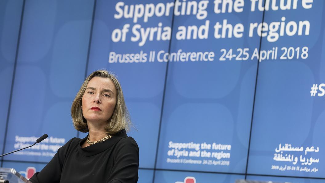 EC сожалеет овыходе США изядерной сделки поИрану— Могерини