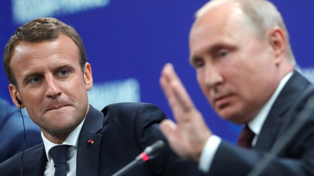 СМИ: Макрон не впечатлил Путина