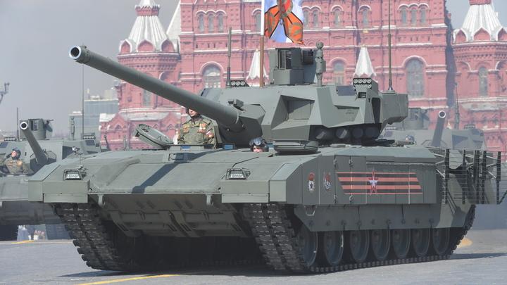 Тяжёлый беспилотник: Танк Армата прошёл тесты без экипажа