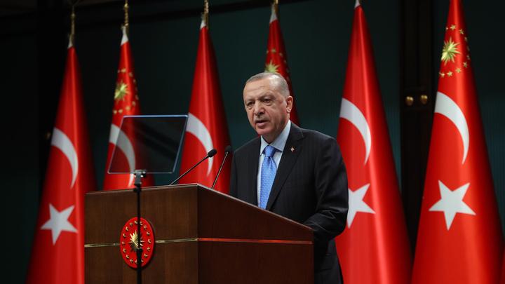 Эрдоган отреагировал на китайскую прививку от COVID смайликом