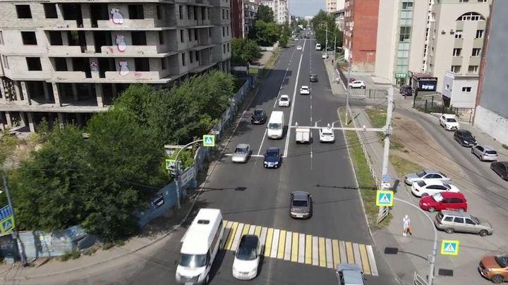 В мэрии похвалили подрядчика за ремонт самой длинной улицы Челябинска