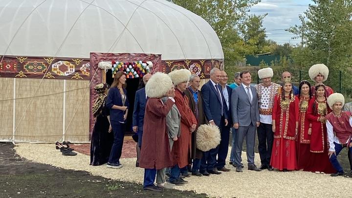 Познать себя и других: в Самаре открылся уникальный Парк дружбы народов