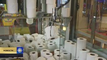 Хватай и беги! Коронавирус довел Британию до автоматов с туалетной бумагой