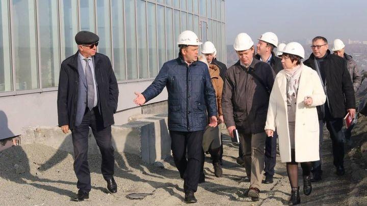 Илья  Середюк рассказал о масштабных стройках на Октябрьском проспекте