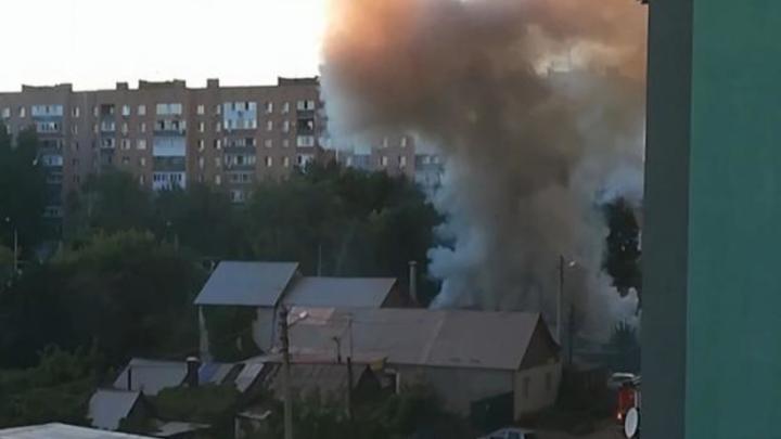 Появились новые подробности пожара в Самаре на улице Майской