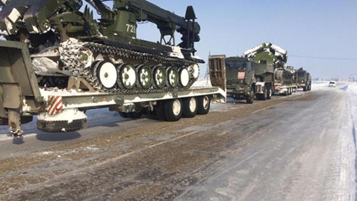 И тут пришли Змей Горыныч и Пантера: Как военные боролись со стихией в Ростовской области