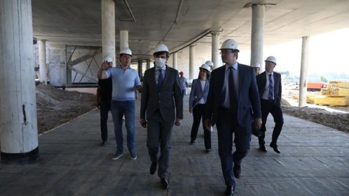 Министр просвещения России высоко оценил строящуюся нижегородскую «Школу 800»