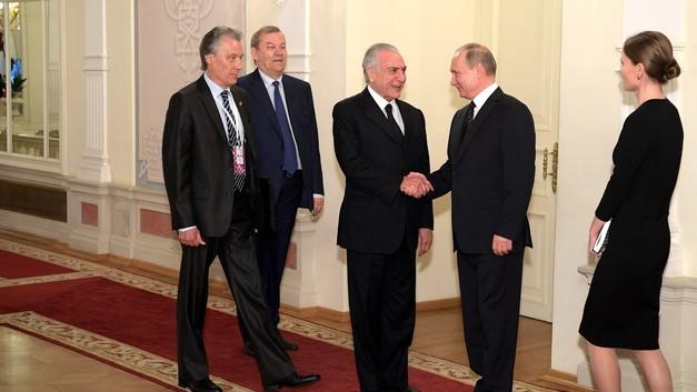 Владимир Путин посетит Бразилию с официальным визитом