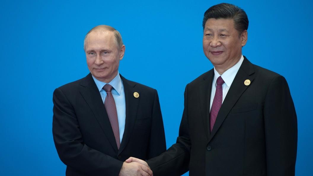 Си Цзиньпин признался, что поддерживает с Путиным самые тесные контакты