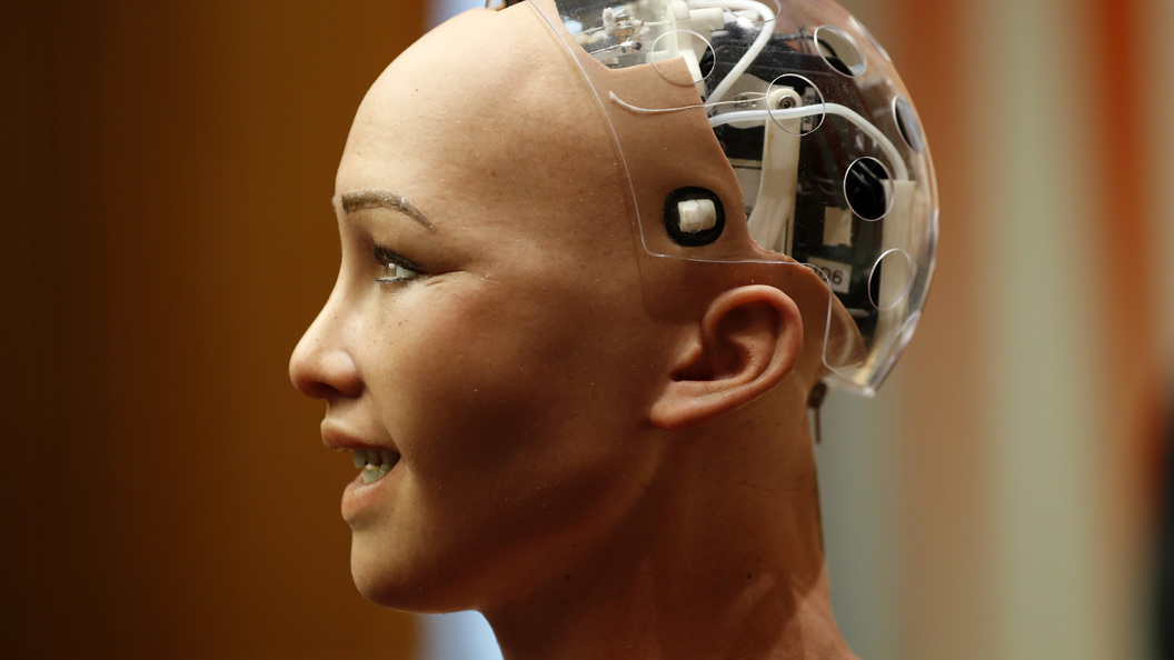 Робот-убийца София выступила в ООН