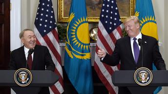 В Госдуме заявили, что Назарбаев представил в США всю Евразию