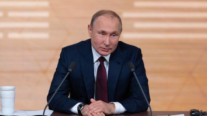 Путин предложил нового кандидата в президенты прямо из зала: А почему нет?