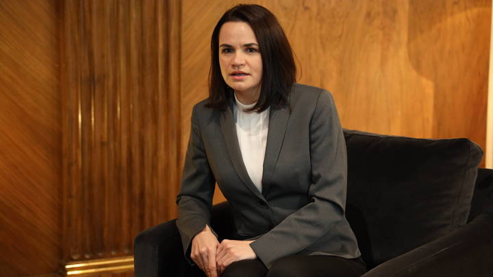 Расцвела, помыла голову…: Тихановской на инаугурации Байдена посулили место Саакашвили