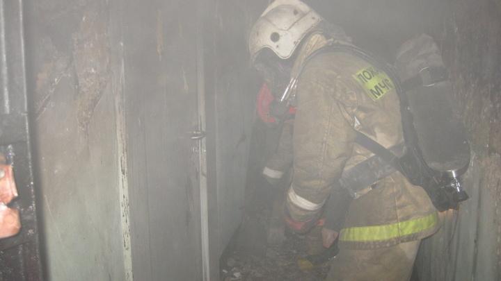 В петербургской коммуналке умерла женщина после пожара
