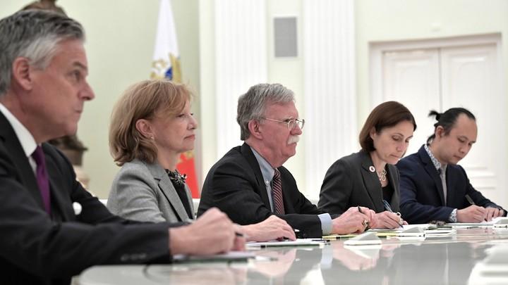 Профессиональный русофоб приехала в Москву для запугивания России
